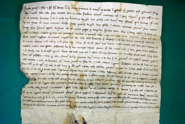 Dokument księcia Bolesława Pobożnego z 1257 r.