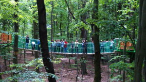 Podniebna Eko Wioska W DELI Parku (fot. Archiwum DELI Park)