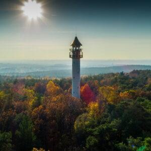Wieża Widokowa Na Dziewiczej Górze (fot. Grzegorz Stempiński Pozdron.pl)