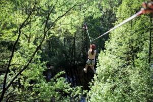 Park Linowy Adrenalina W Obornikach (fot. Archiwum Parku)