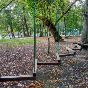 Niski Park Linowy Przy Pałacu Jankowice (fot. Piotr Basiński)