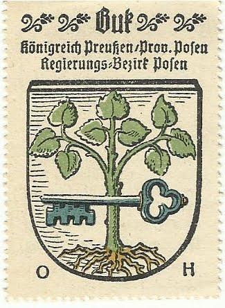 Herb Buku z czasów pruskich