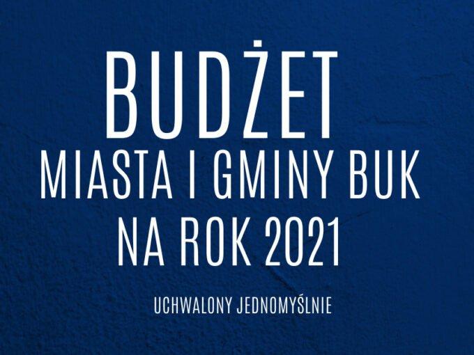Budżet Na Rok 2021